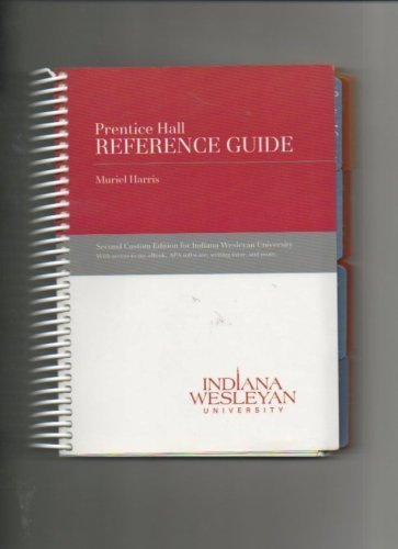 Prentice Hall Reference Guide: Muriel Harris