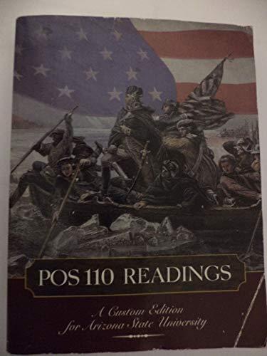 9780536401168: POS 110 Readings : A Custom Edition for Arizona State University