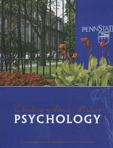Thinking About Modern Psychology