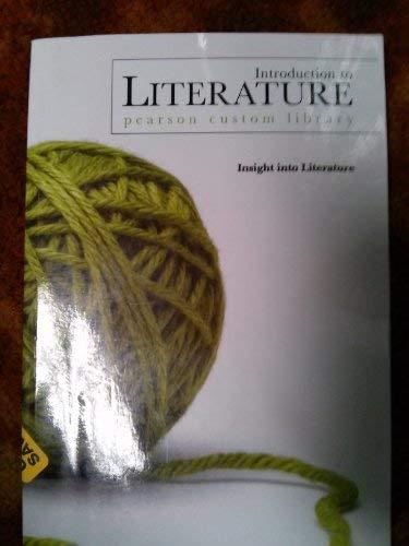 9780536416070: Introduction to Literature (Pearson Custom Library) Introduction to Literature 250 Brigham Young University - Idaho