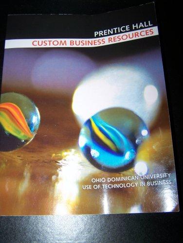 9780536426024: Prentice Hall: Custom Business Resources