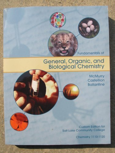 Fundamentals of General, Organic, and Biological Chemistry: John McMurry