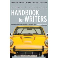 Simon & Schuster Handbook for Writers w/: Lynn Quitman Troyka,