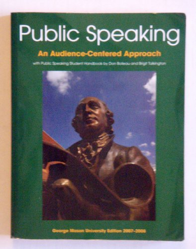 9780536435743: Public Speaking: An Audience-Centered Approach