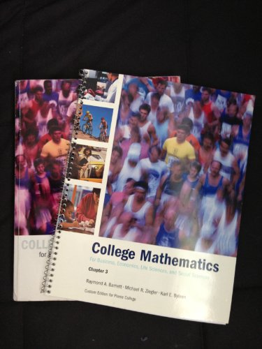 9780536446404: College mathematics for Business, Economics,Life Sciences and Social Sciences...