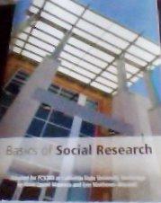 9780536451842: Basics of Social Research