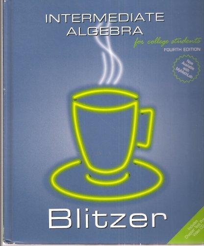 9780536455772: Intermediate Algebra for College Students, Fourth Edition