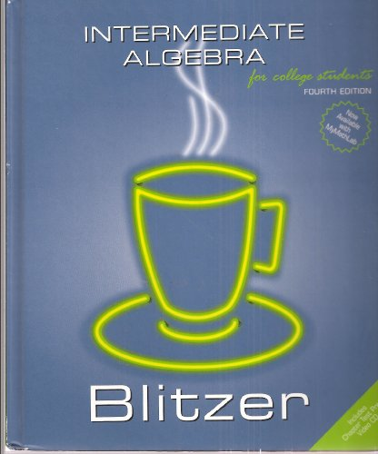 9780536455772: Intermediate Algebra for College Students, Fourth Edition