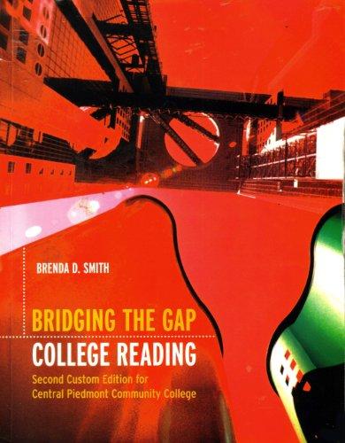 9780536458070: Bridging the Gap: College Reading