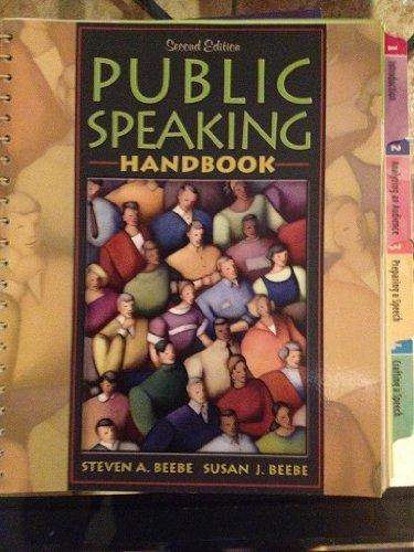 9780536458193: Public Speaking Handbook