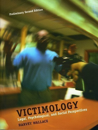 9780536458483: Victimology : Legal, Psychological, and Social Perspectives