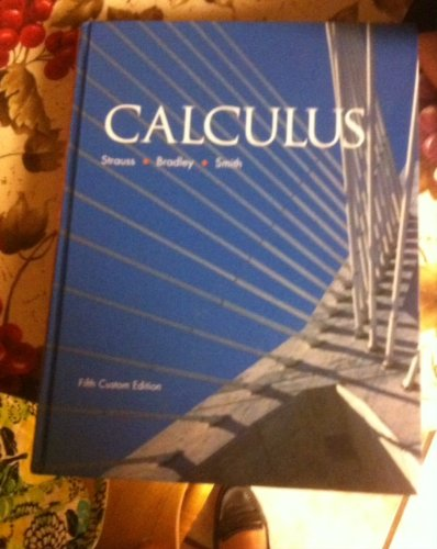 Calculus - With CD: Strauss, Bradley, Smith