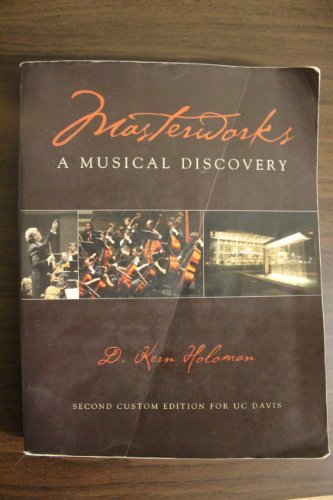 9780536460875: Masterworks: A Musical Discovery