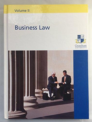 9780536471567: Business Law Volume II (Volume II)