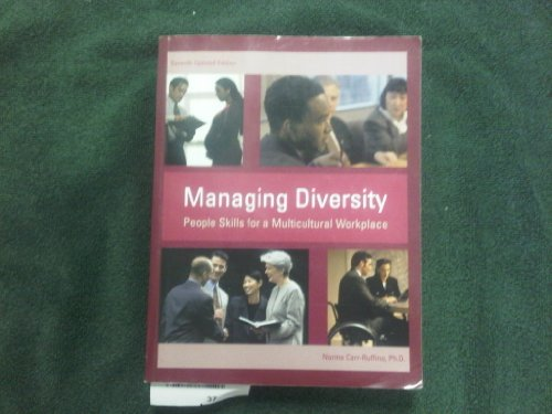 9780536476487: Managing Diversity, People Skills for a Multicultural Workplace (7th Updated Edition)