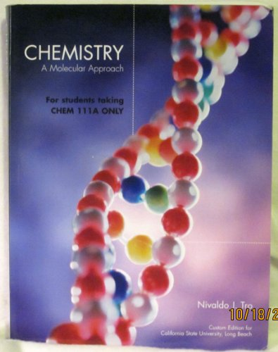 9780536487759: Chemistry a Molecular Approach