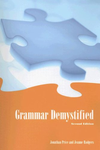 9780536491282: Grammar Demystified (2nd Edition)