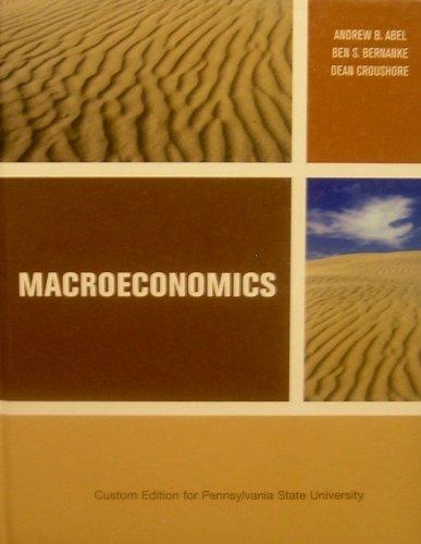 9780536494405: Macroeconomics (Custom Edition for Pennsylvania State University)