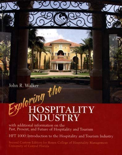 9780536503480: Exploring the Hospitality Industry