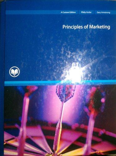 9780536508980: Principles of Marketing -- Twelfth 12th Edition
