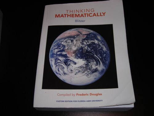 9780536535351: THINKING MATHEMATICALLY (CUSTOM EDITION FOR FLORIDA A & M UNIV)