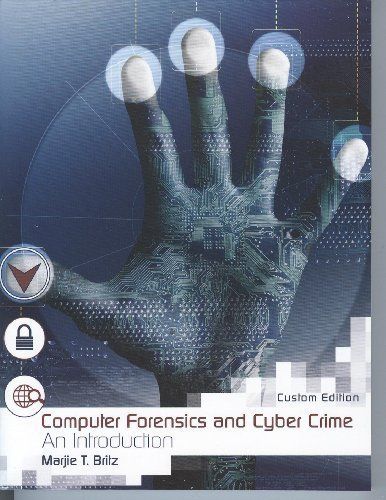 9780536553706: Computer Forensics and Cyber Crime an Introduction (Custom Edition)
