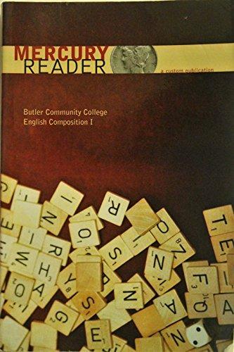 9780536555007: Mercury Reader: Butler Community College English Comp I