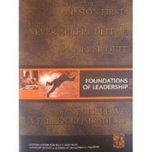 9780536563187: foundations of leadership (a military science and leadership development program)