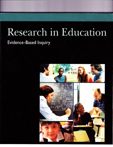 9780536567475: Research in Education, Evidence-Based Inquiry