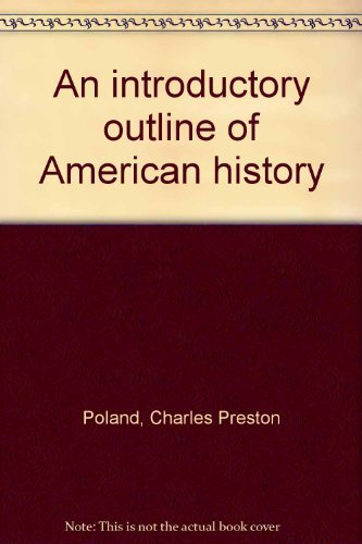 9780536575968: An introductory outline of American history