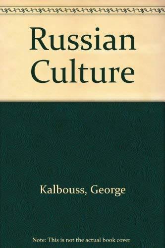 9780536580399: Russian Culture