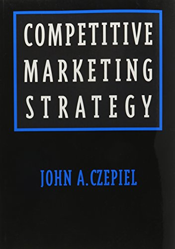 9780536588296: Competitive Marketing Strategy (Prentice-Hall Series in Marketing)