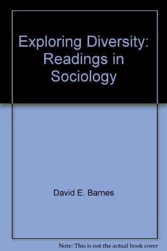 9780536589217: Exploring diversity: Readings in sociology