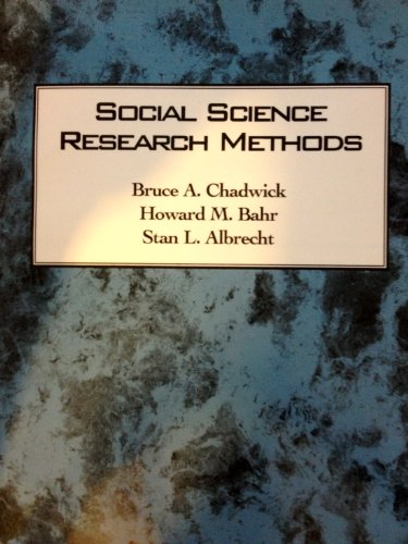 9780536591869: Social Science Research Methods