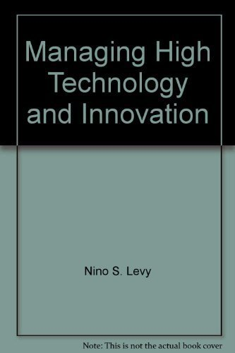 9780536601162: Managing High Technology and Innovation