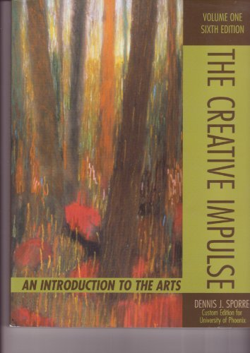 9780536602688: The Creative Impulse an Introduction to the Arts