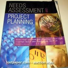 9780536603890: Needs Assessment and Project Planning