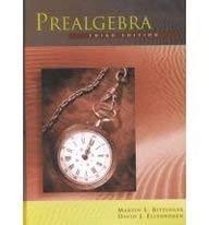 Pre-Algebra: Bittinger, Marvin L.