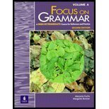 Focus on Grammar: A High Intermediate Course for Reference and Practice (Volume A): Fuchs, Marjorie...
