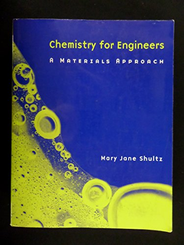 9780536618092: Chemistry for engineers: A materials approach