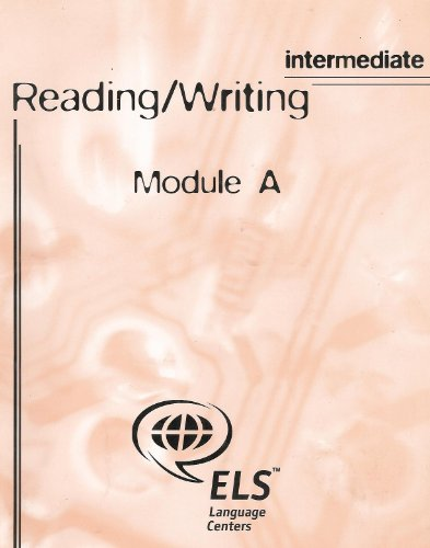 9780536619266: Reading and Writing: Intermediate/Module A [Student Workbook] Intensive English Language Studies Program