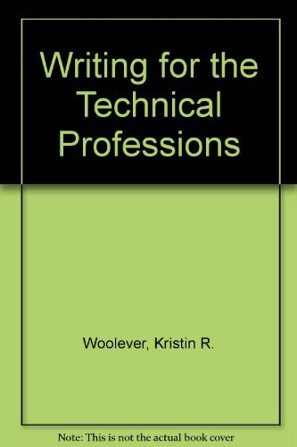 9780536622860: Writing for the Technical Professions