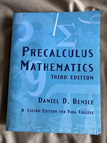 9780536625557: Precalculus Mathematics