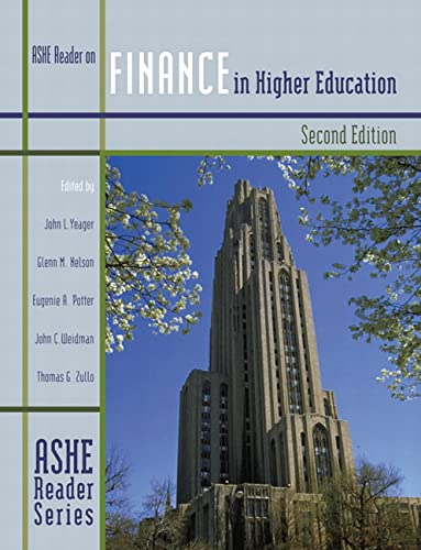 9780536628824: Finance in Higher Education (2nd Edition)