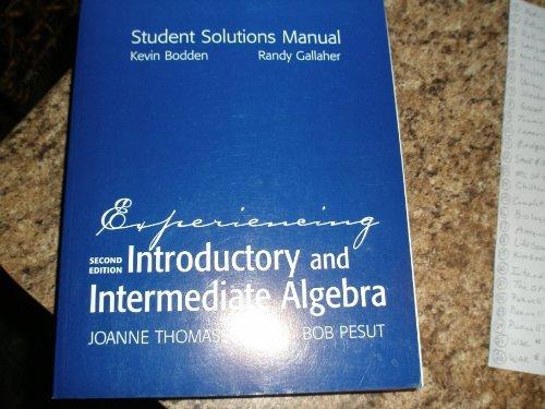 Introductory Algebra: Third Custom Edition for Palm: K. Elayn Martin-Gay