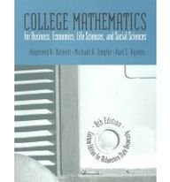 9780536632128: College Math for Business, Economics, Life Sciences, and Social Sciences: Custom Edition