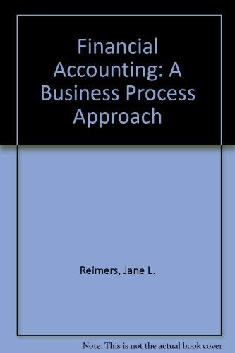 9780536633712: Financial Accounting: A Business Process Approach