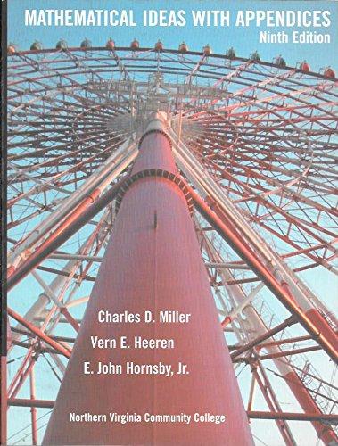 Mathematical Ideas: Charles David Miller
