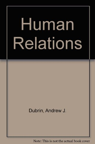 9780536637536: Human Relations
