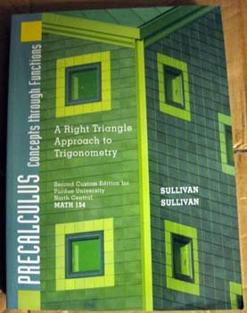 9780536646255: Precalculus Concepts Through Functions (A Right Triangle Approach to Trigonometry)